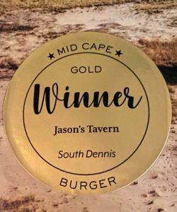 Jason's Gold Winner - Best Burgers