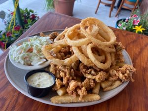 Fried Clam Plate