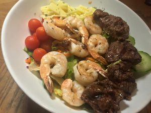 Surf and Turf Shrimp and Beef