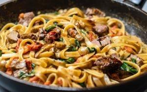 Jason's Tavern Parmigiana Pasta